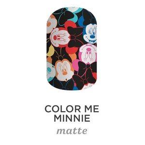 🆕 💅🏼 Jamberry Nail Wraps Disney Color Me Minnie